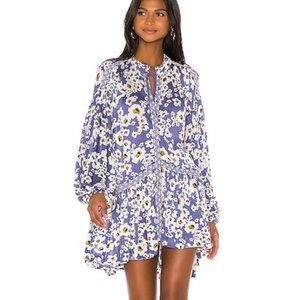 NWT Free People Love Letter Floral Tunic Dress